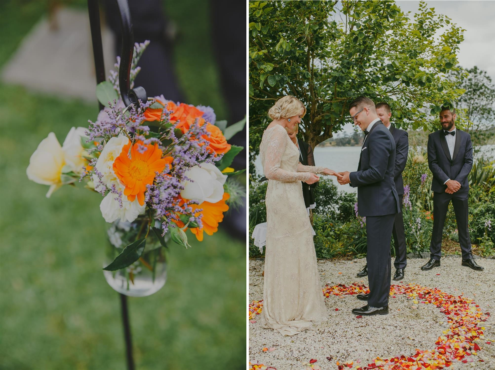 Wedding Ceremony - An Elegant Spring Vintage Wedding