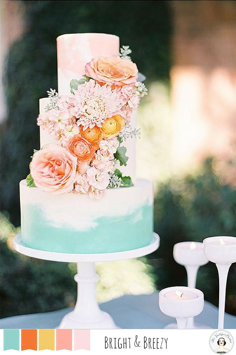 5 Spring Wedding Colors - Bright & Breezy