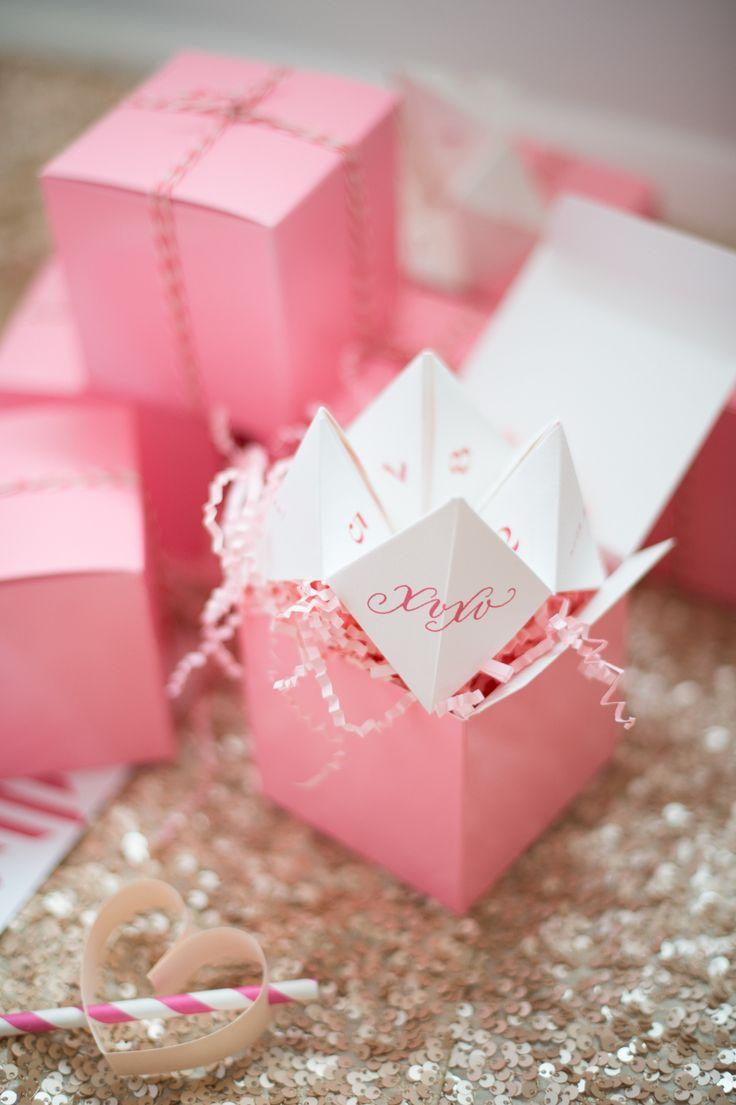 Valentines Paper Fortune Teller