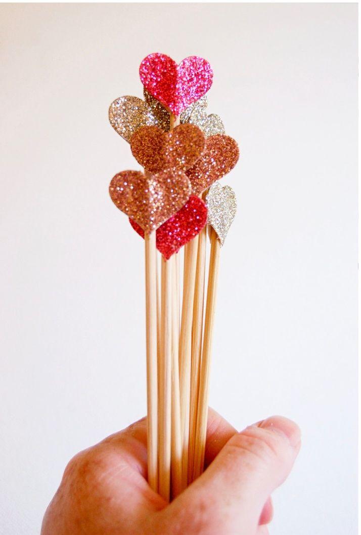 DIY Heart Cake Topper