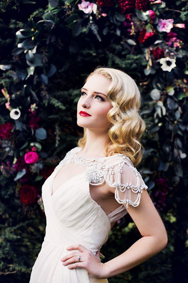 Fabulous 25 Ridiculously Romantic Bridal Updos Chic Vintage Brides Hairstyles For Women Draintrainus