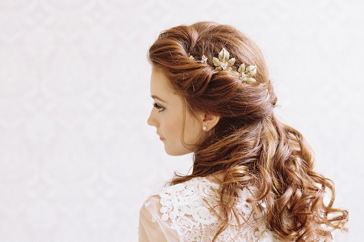 25 Ridiculously Romantic Bridal Updos  Chic Vintage Brides