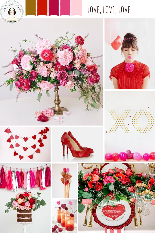 Love, love, love Valentines Day Inspiration Board