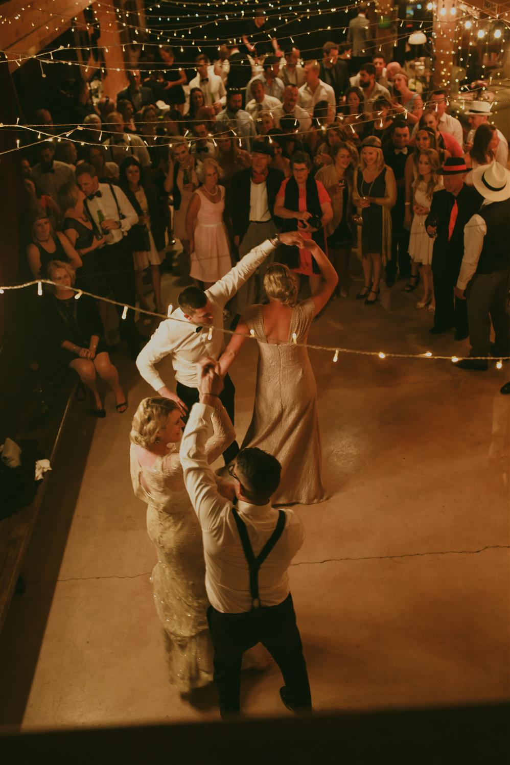 Wedding Reception - An Elegant Spring Vintage Wedding