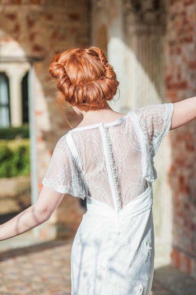 Ridiculously Romantic Bridal Updos - Romantic Rolls