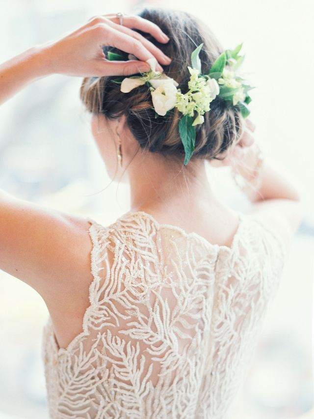 Ridiculously Romantic Bridal Updos - Romantic Rolls