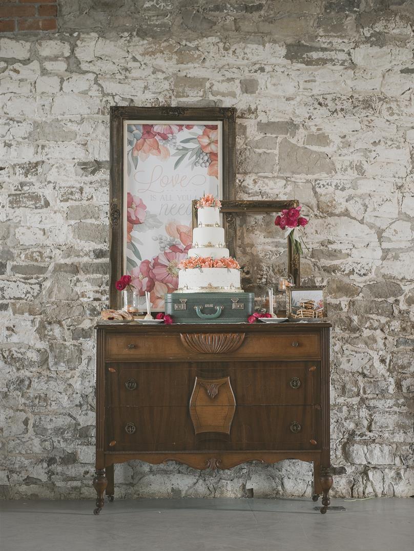 Vintage Dessert Table - Romantic , Edwardian Inspired Vintage Wedding Ideas