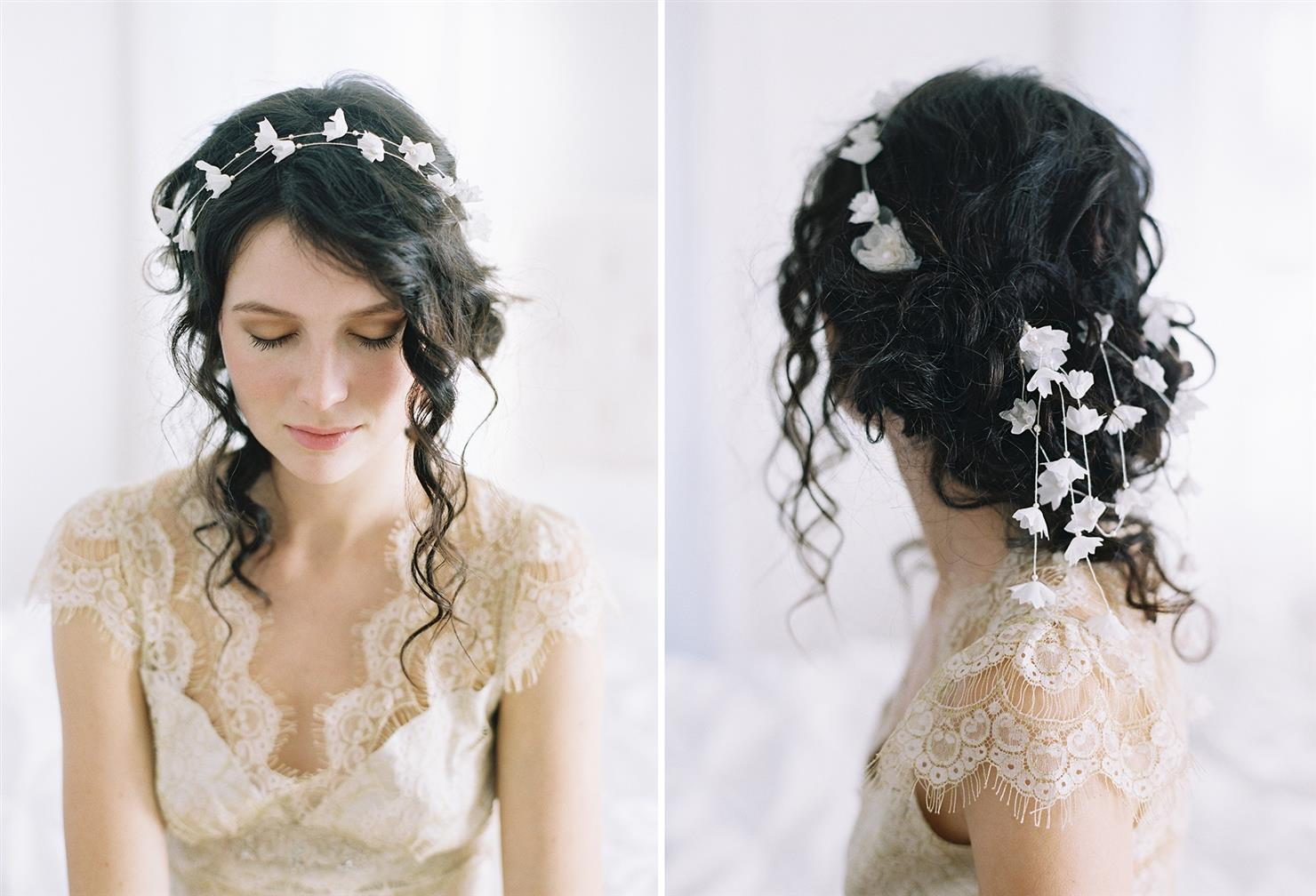 The 2015 Collection of Simply Sublime Bridal Hair Accessories from Erica Elizabeth Designs