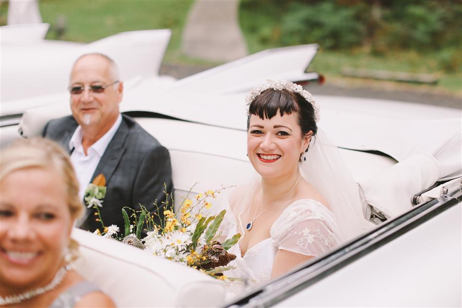 Vintage Bride - A 1950s Inspired Woodland Wedding