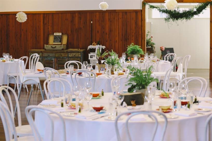 Vintage Wedding Reception - A 1950s Inspired Woodland Wedding