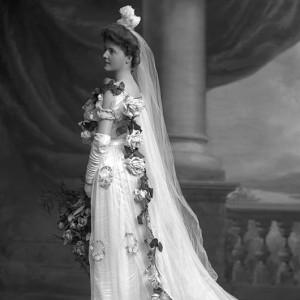 Chic Vintage Victorian Bride - Miss Sheila Cooper