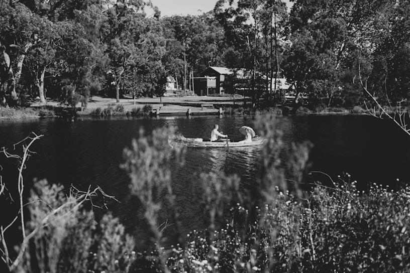 Row Boat Wedding Getaway - A 1950s Inspired Woodland Wedding
