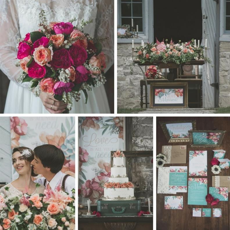 Romantic , Edwardian Inspired Vintage Wedding Ideas