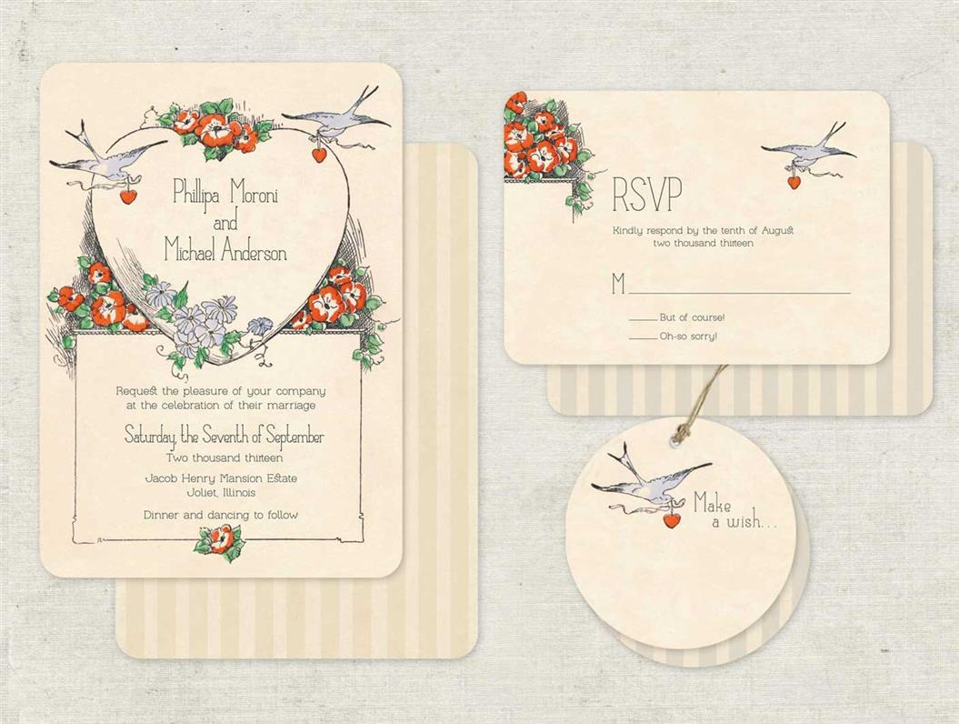 Art Deco Wedding Stationery from Go Go Snap