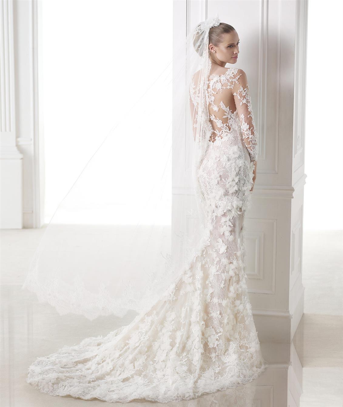 Long Sleeve Wedding Dress Capricornio from Pronovias