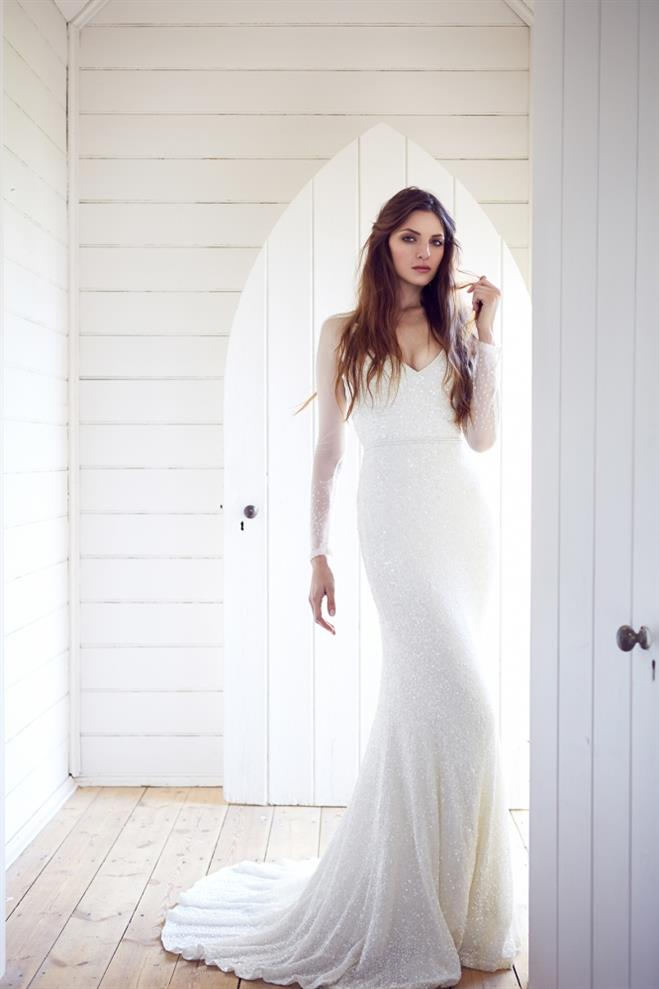 Long Sleeve Wedding Dress Carinna from Karen Willis Holmes