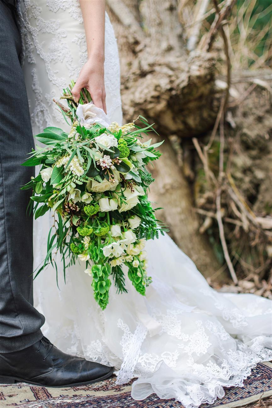5 Lush Spring Bouquets - Lush Green