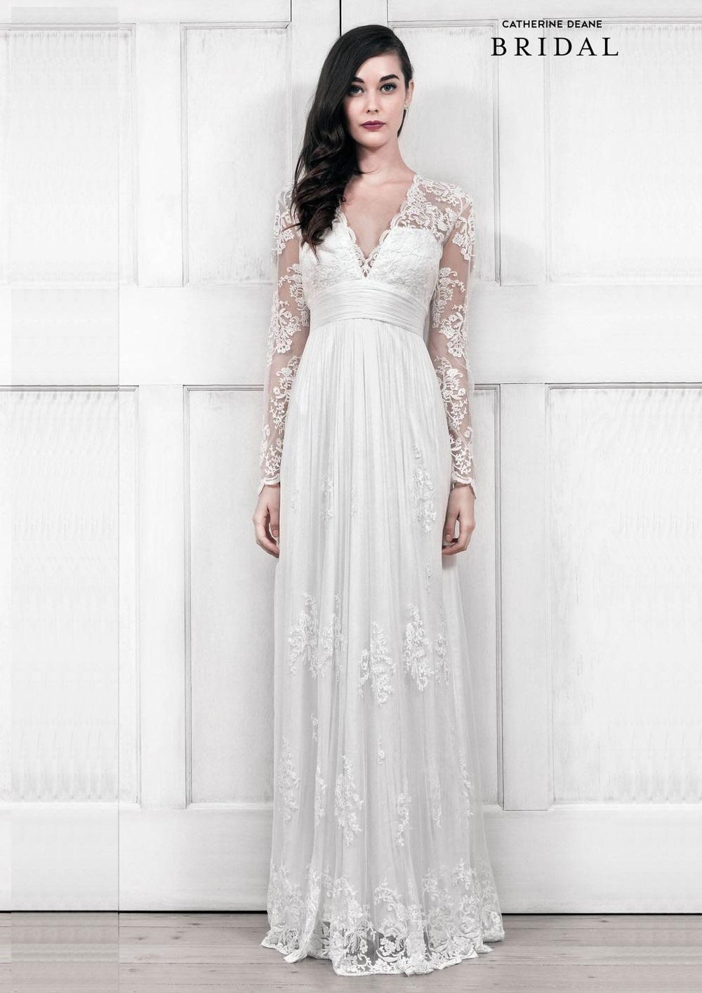 Long Sleeve Wedding Dress Lia by Catherine Deane