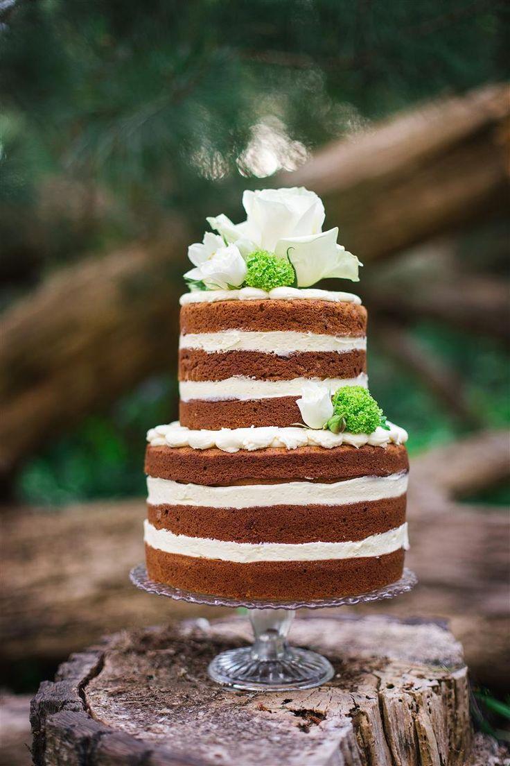 5 Beautiful Spring Wedding Cake Ideas - Naked