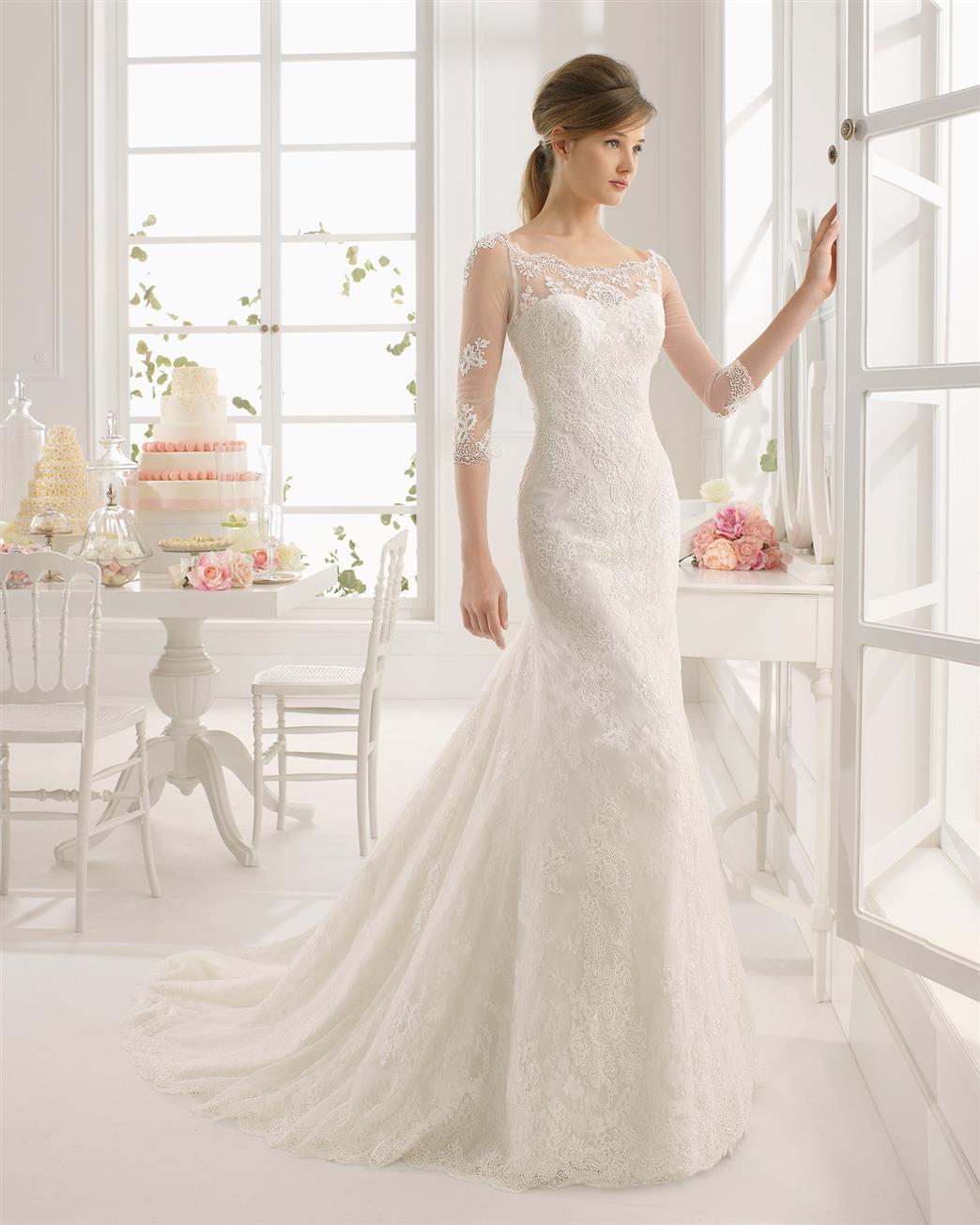 Vintage Wedding Gown Designers: 30 Exquisite & Elegant Long Sleeved Wedding Dresses : Chic