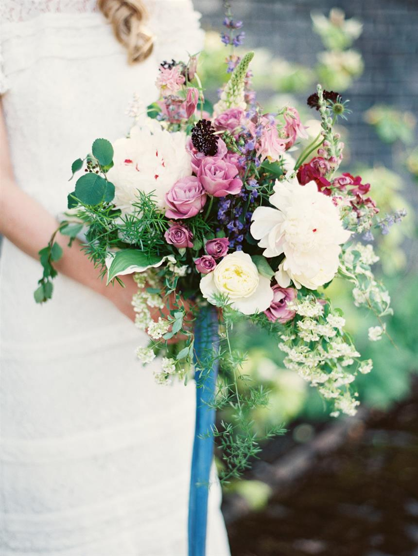 5 Lush Spring Bouquets - Cottage Garden Bouquet