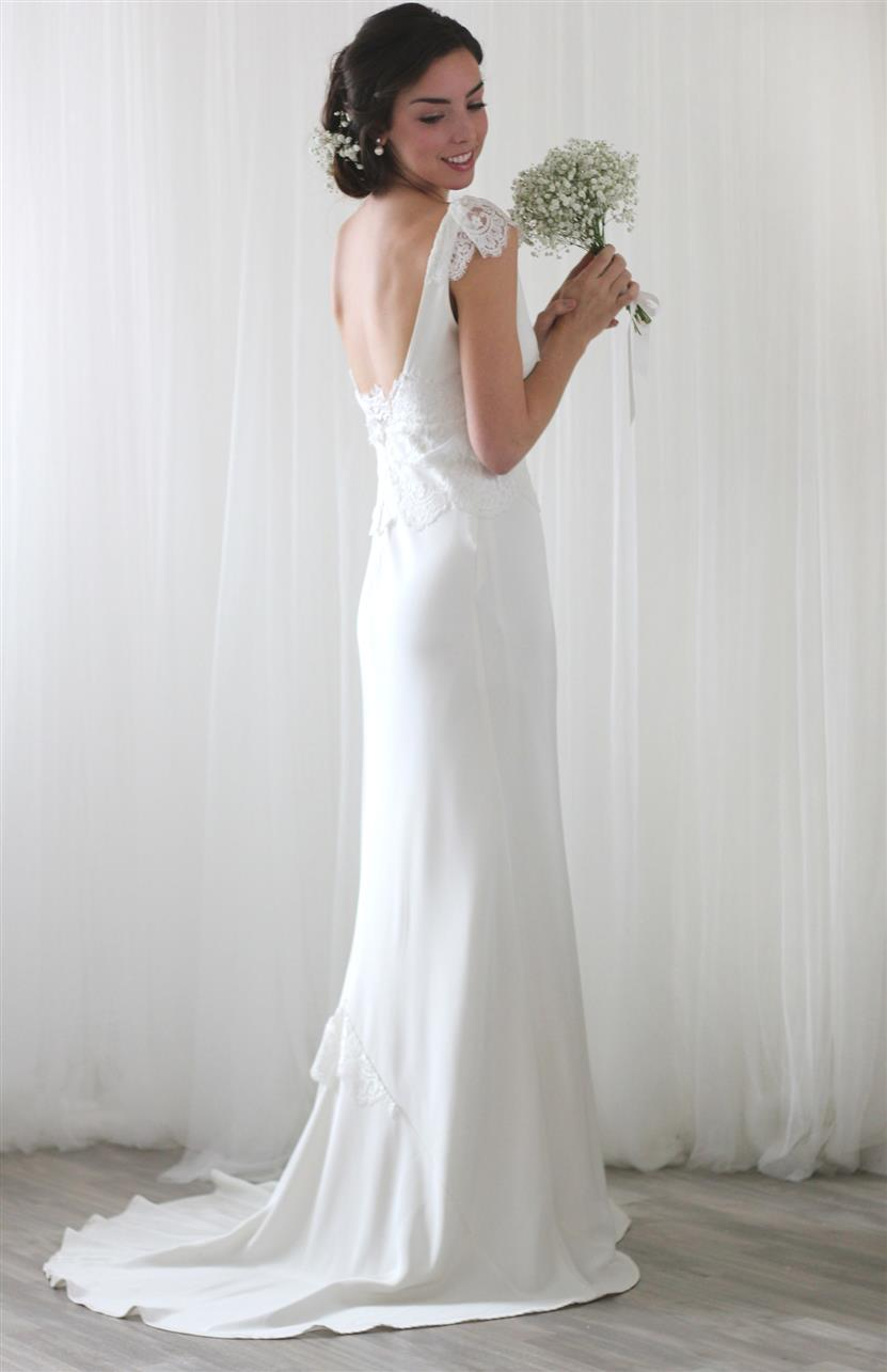 Elegant Vintage Wedding Dresses from Rose & Delilah