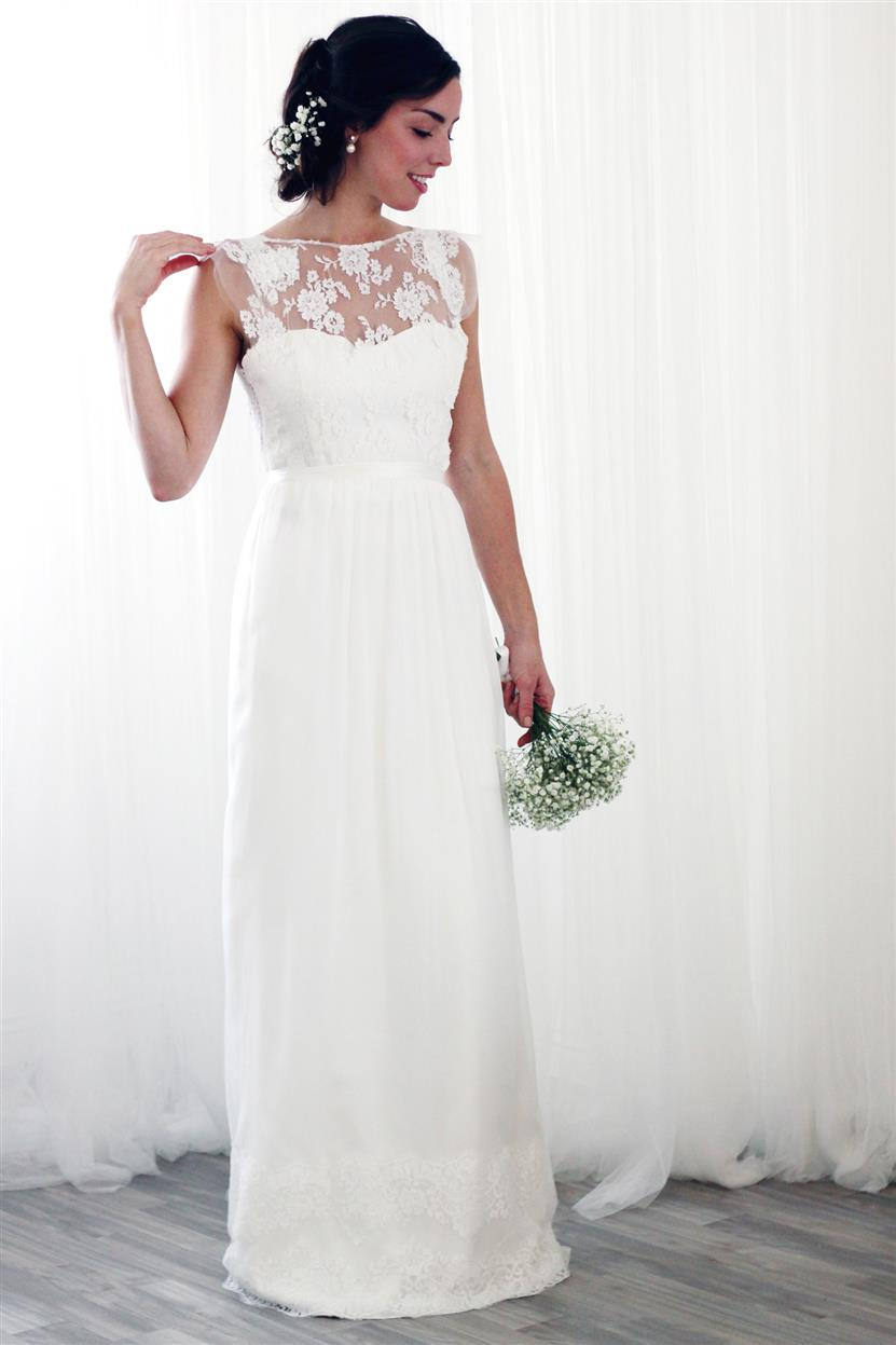 Elegant Vintage Wedding Dresses From Rose Amp Delilah Chic Vintage Brides