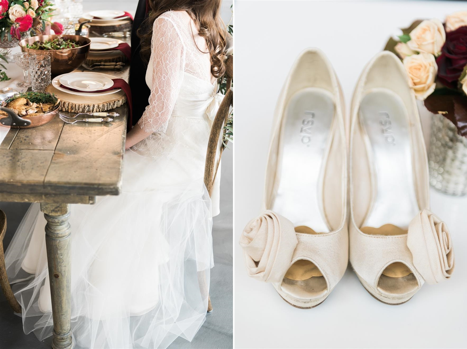 A Stunning Marsala Wedding Inspiration Shoot from The Photography Stylistas
