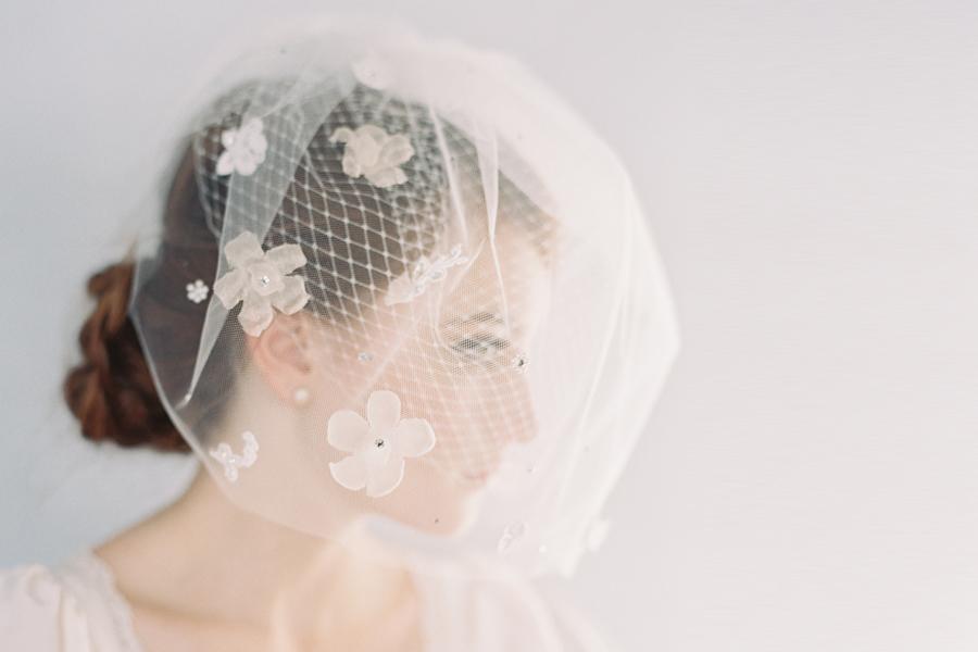 Birdcage Veil from Erica Elizabeth Designs