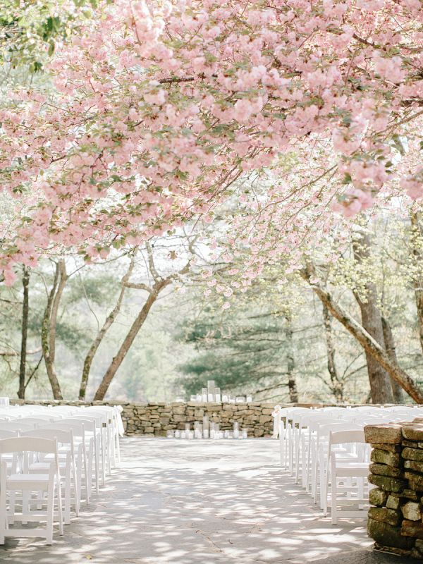 A Spring Wedding Venue Brimming with Blossom
