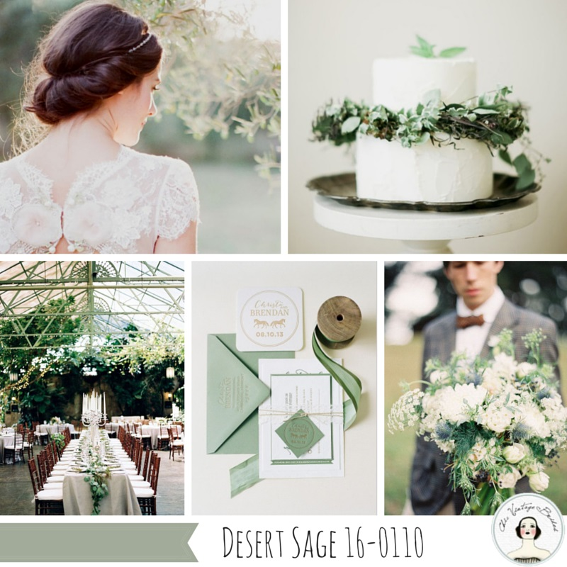 Fall 2015 Wedding Colours - Desert Sage