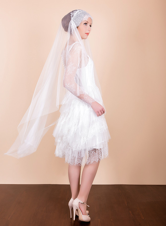Short Wedding Dress - Luna from Vintage Atelier