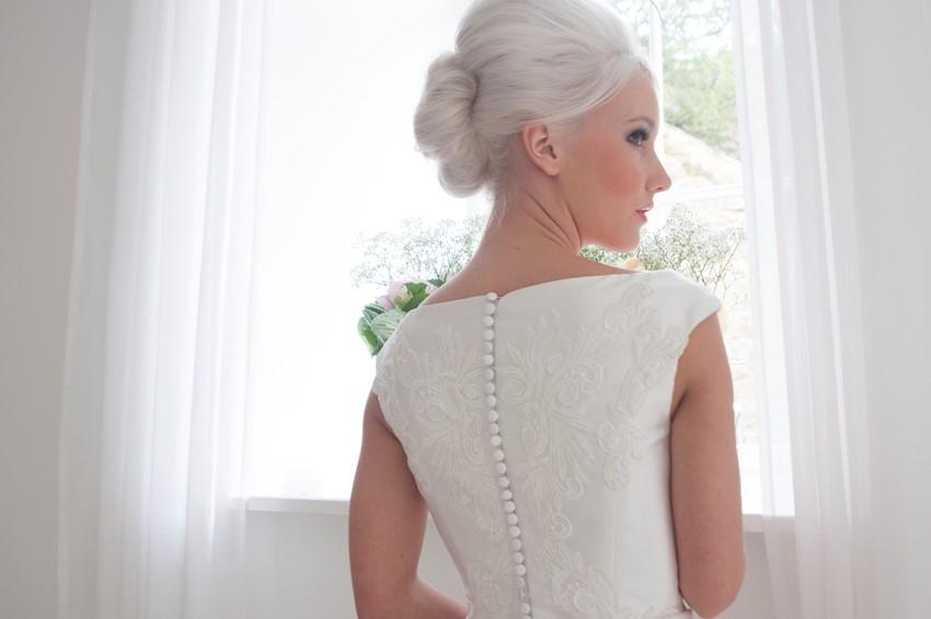 Ruby - Tea Length Wedding Dress from House of Mooshki's 2016 Bridal Collection