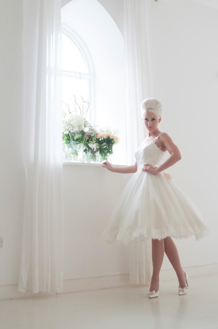Tilly - Tea Length Wedding Dress from House of Mooshki's 2016 Bridal Collection