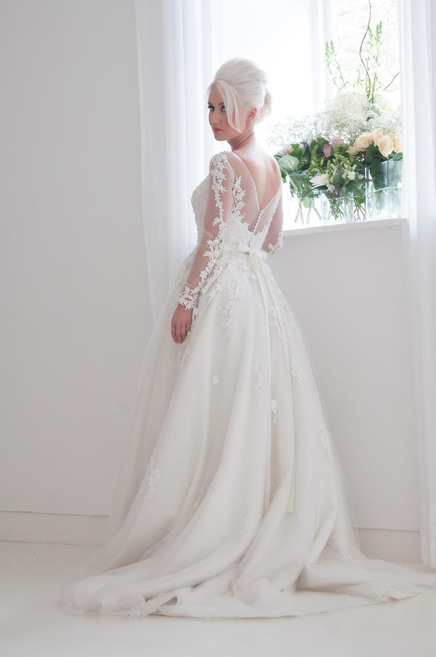 Felicity - Long Sleeve Wedding Dress from House of Mooshki's 2016 Bridal Collection