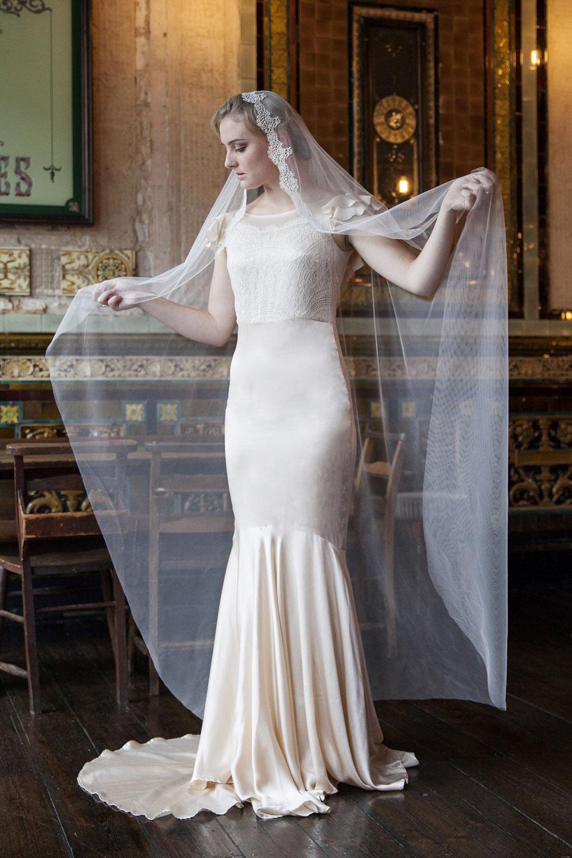 Mantilla Veil from Agnes Hart