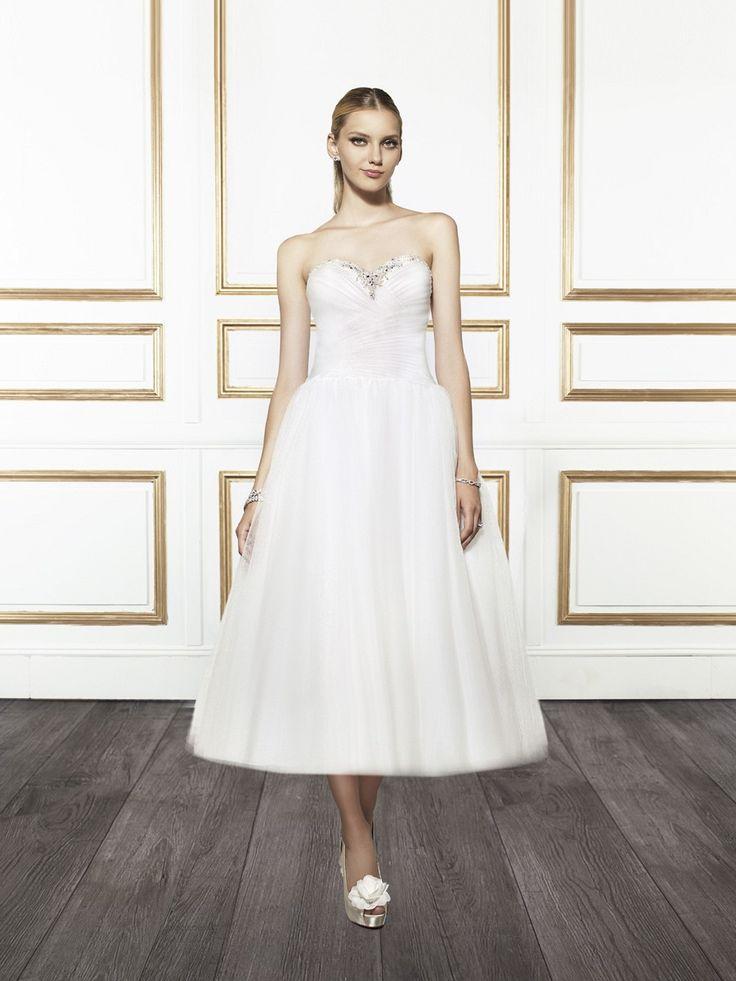 Slutty Wedding Dress.25 Utterly Gorgeous Tea Length Wedding Dresses Chic