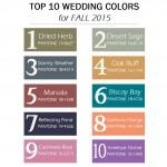 Pantone's Top 10 Fall 2015 Colours