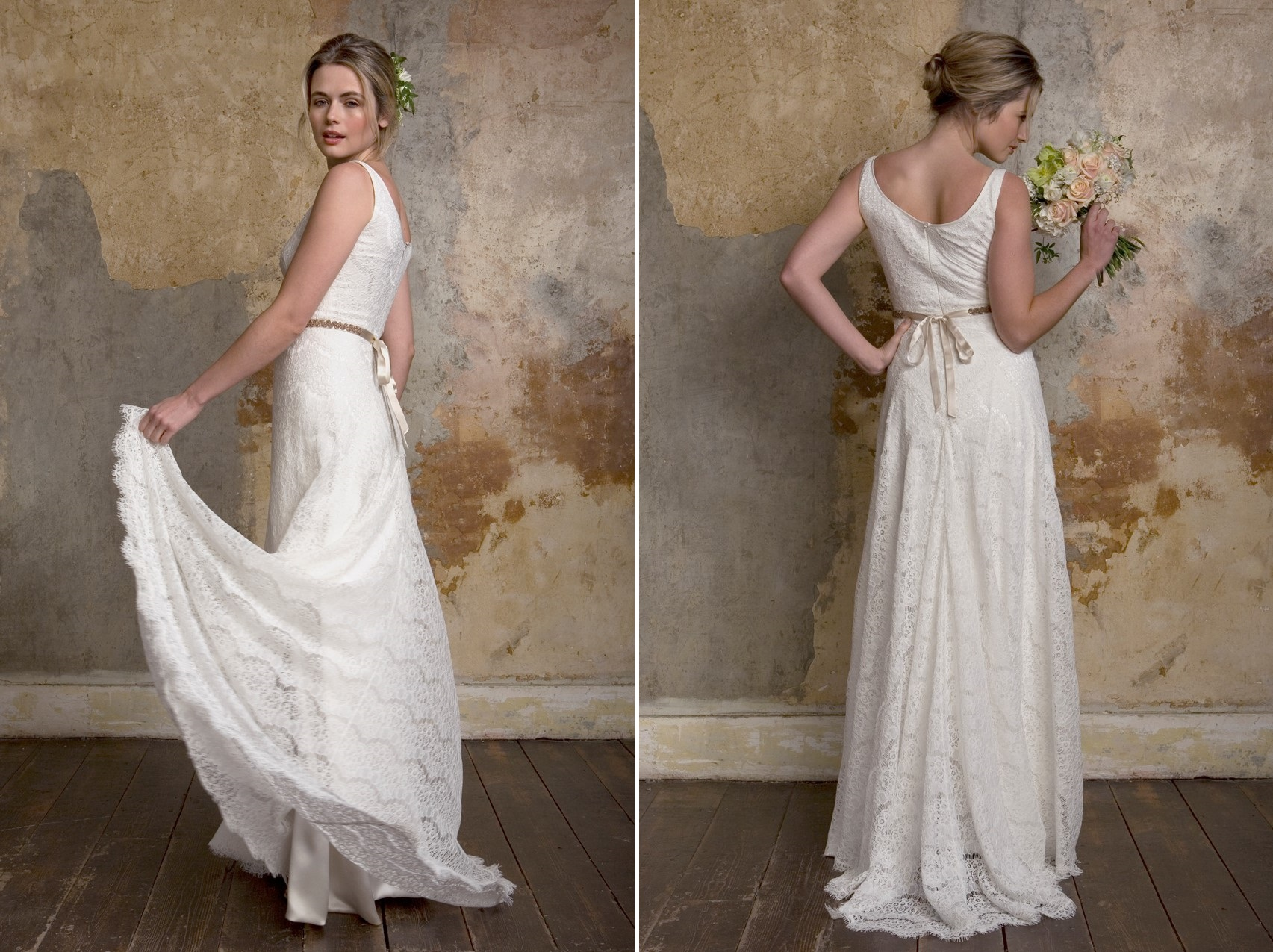 Sally Lacock Camille - a classic wedding dress