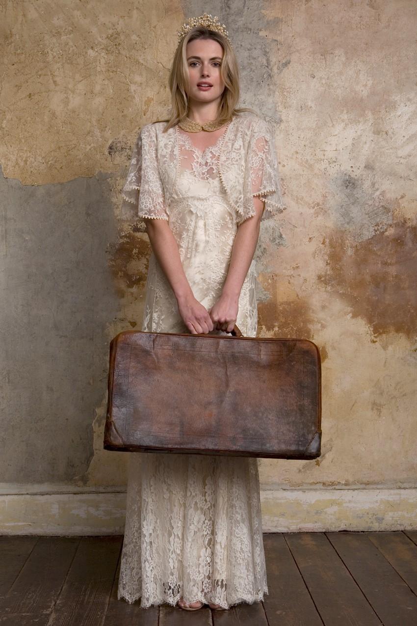 Sally Lacock Carly - an Edwardian wedding dress