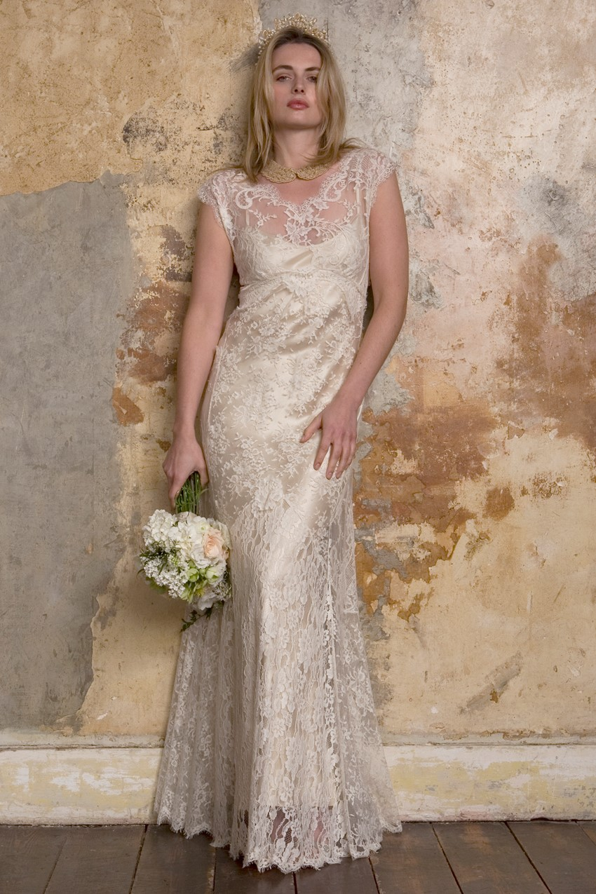 Vintage Inspired Wedding Dresses from Sally Lacock - Carly an Edwardian inspired wedding dress
