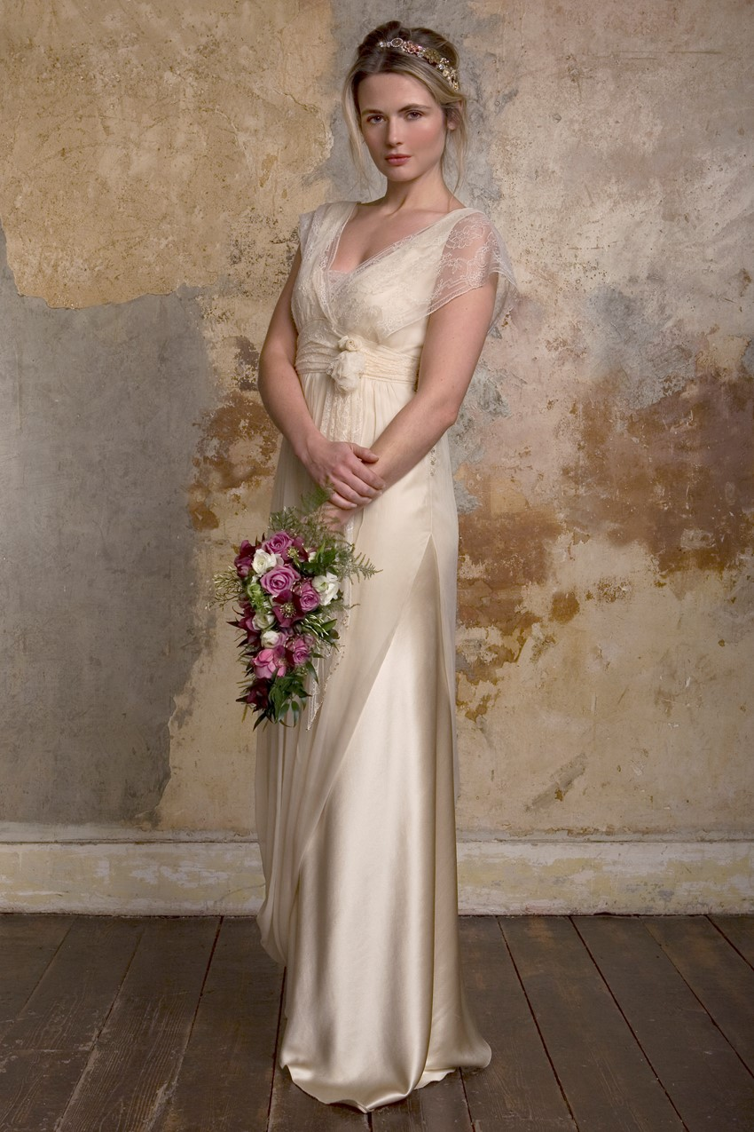 Sally Lacock Esme - a Grecian wedding dress