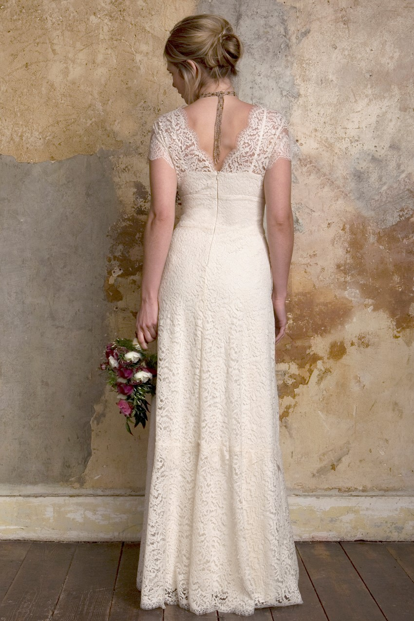 Sally Lacock Georgie - a rustic country wedding dress