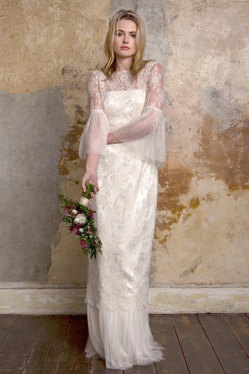 Sally Lacock Honor - a long-sleeve lace wedding-dress