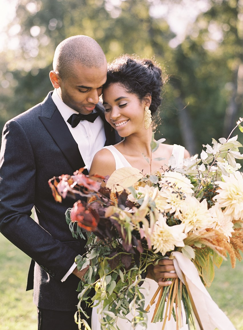 Elegant Autumn Wedding Inspiration