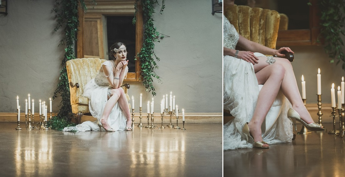 Lavish Gatsby Wedding Inspiration from Ally Kristensen and Sue Gallo