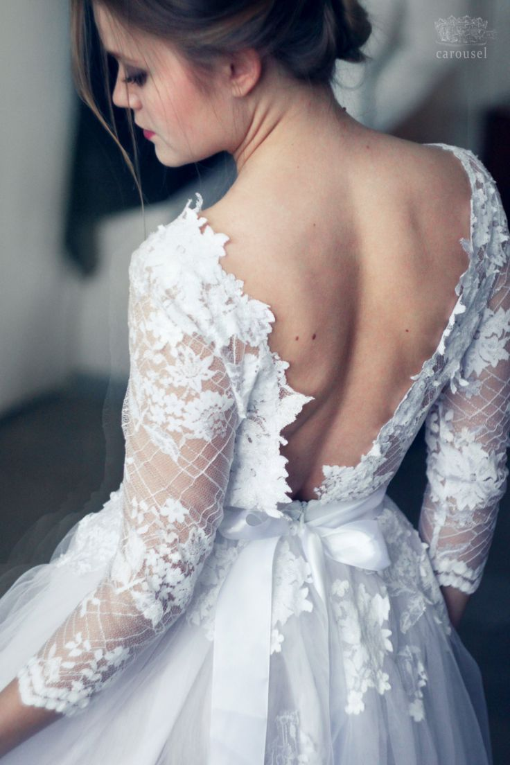 Long Sleeve Wedding Dress Under $1000