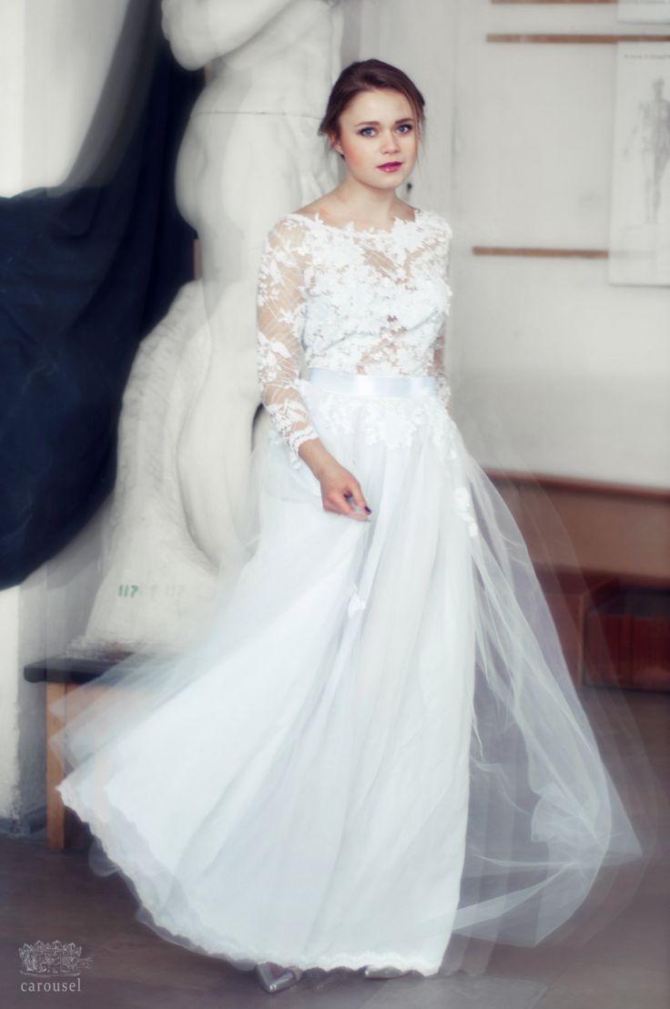 Long Sleeve Budget Friendly  Wedding Dresses Under $1000
