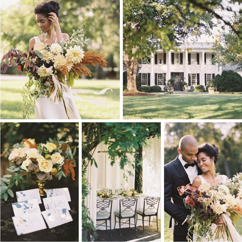 Elegant Fall Wedding Inspiration
