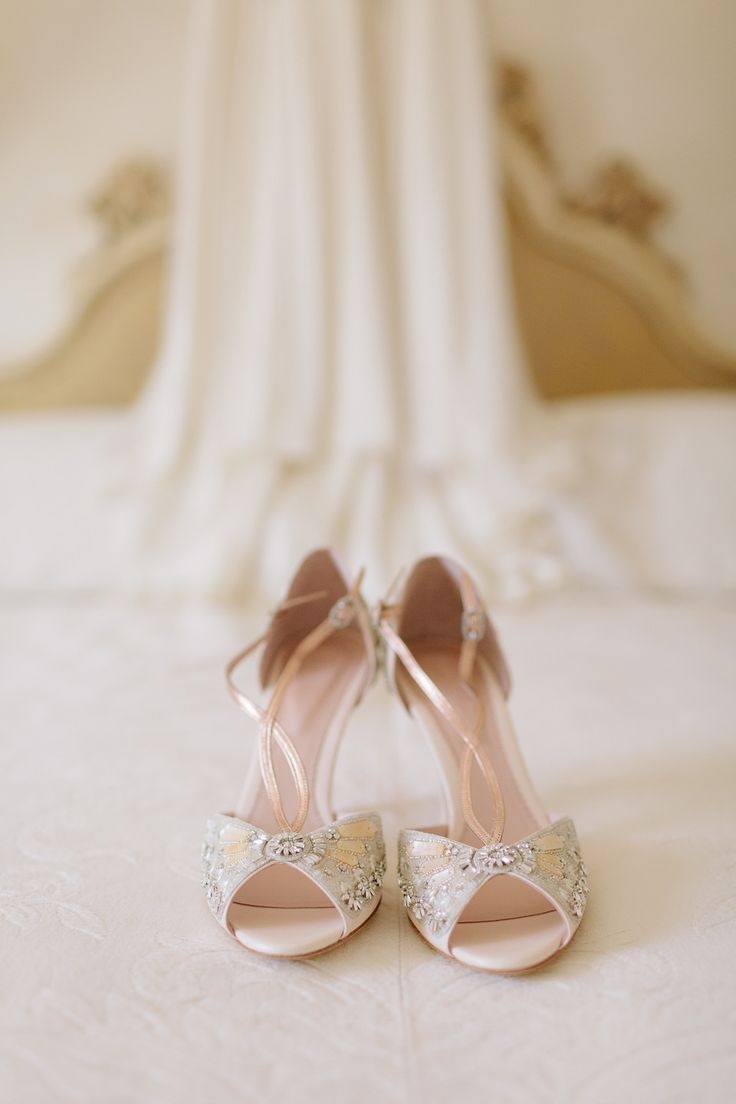 The Most Perfect Bridal Shoes for a Vintage Bride from Emmy